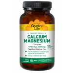 Calcium-Magnesium 1000mg/500mg  180 tablet